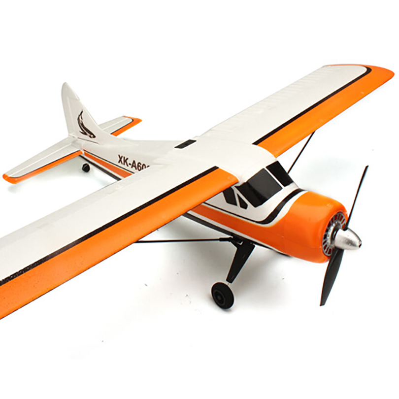 Original XK A600 4CH 3D6G System Brushless RC Airplane RTF 2.4GHz XK DHC-2 A600 RC Fighter Compatible Futaba image