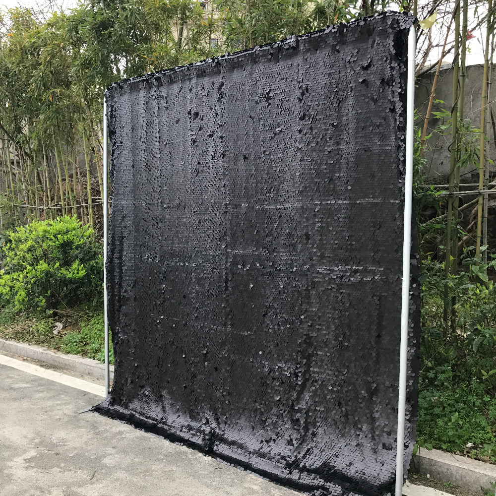 sequin backdrop seamless black large sequin photo booth background for photo booth machine