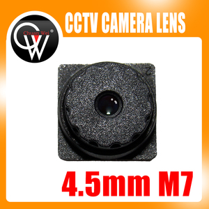 Image 1 - 5PCS 5MP f2.0 4.5mm M7 67Degrees Viewing Built in IR Filter Mini CCTV Lens for ALL HD Mini CCTV Cameras