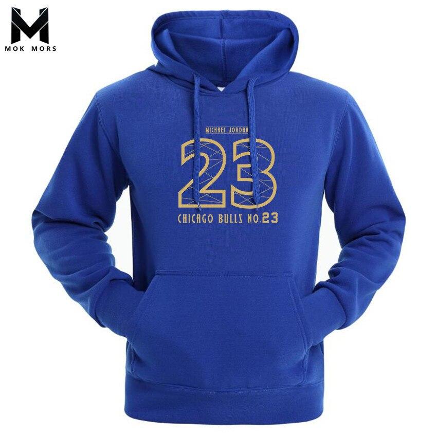 Sweatshirts Men Self-Cultivation 23-Printing Long-Sleeved Fashion-Brand Business Wild