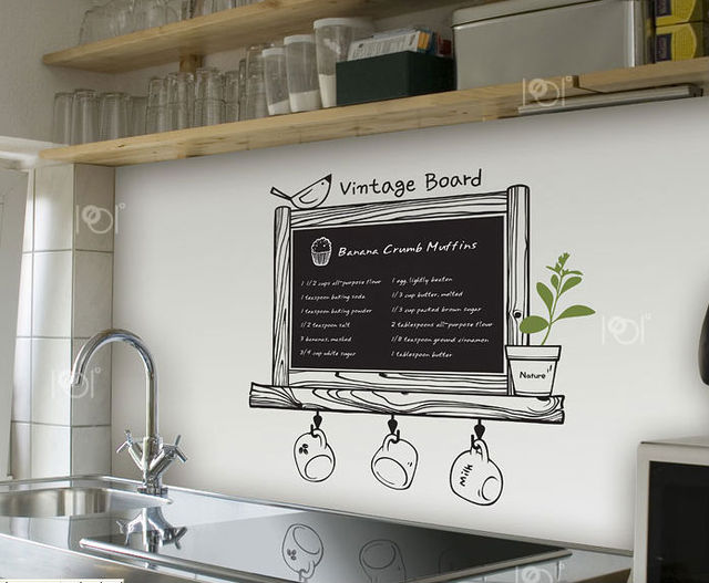 Tableau ardoise deco cuisine tableau ardoise deco cuisine for Deco cuisine ardoise