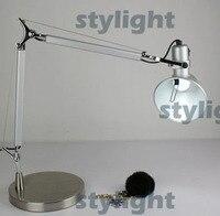 Хит продаж алюминиевый настольные лампы освещения дизайн Микеле де Лукки среднего размера Бесплатная доставка