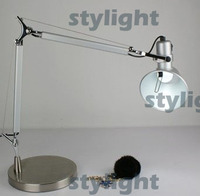 Hot selling aluminum lamp table lighting design by Michele De Lucchi Medium size free shipping