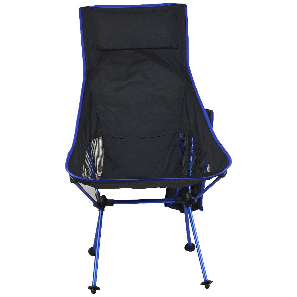 2018 Nouveau Design Portable léger Pliant Camping Tabouret Chaise Avec oreiller Siège Pour La Pêche Picnic Festival BARBECUE