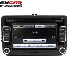 Оригинальное автомобильное радио RCD510 CD USB AUX RVC камера заднего вида для Golf 5 6 MK5 MK6 Jetta CC Tiguan Passat с кодом