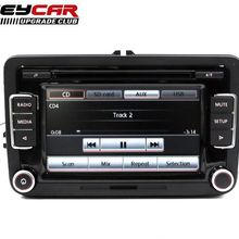 Rear-View-Camera Car Radio RCD510 Jetta Golf 5 Passat Code AUX MK6 USB for 6/Mk5/Mk6/..