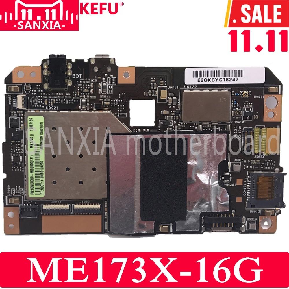 KEFU ME173X Tablet PC motherboard for ASUS ME173X ME173 ME17 Test original mainboard 16G стоимость