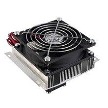 1 шт. 60 Вт термоэлектрический воздухоохладитель холодильное полупроводниковый охладитель системы Комплект кулер вентилятор готовые компьютерные компоненты