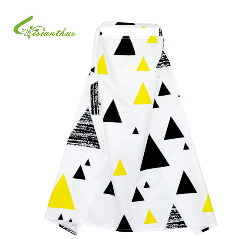 Breathable Breastfeeding Cover 100% Cotton Mother Feeding Babys Apron Mommys Outdoors Feeding Baby Breast Nursing Cover