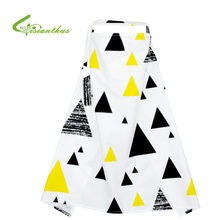 Breathable Breastfeeding Cover 100% Cotton Mother Feeding Baby's Apron Mommy's Outdoors Feeding Baby Breast Nursing Cover