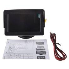 """4.3 """"sistema de Color TFT LCD Retrovisor Del Coche Monitor para VCR de La Cámara DVD"""