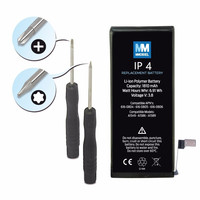 100% MMOBIEL Original Mobile Phone Battery For Iphone4 battery Replacement Li Ion 3,7v 1420 mAh incl. 2 x screwdrivers MMOBIEL