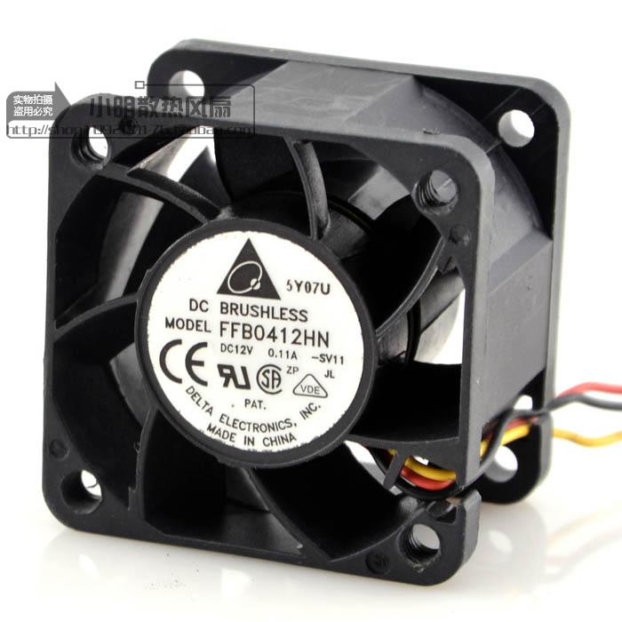 Free Delivery. 4028 12 v 0.11 A FFB0412HN third-tier server cooling fan