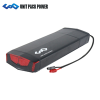 Powerful Electric Bike Rack battery 48V 14Ah Samsung 18650 cells lithium battery pack with BMS+54.6V 2A Charger