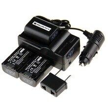 Menino Digital 3 pcs FV50 NP-FV50 NP FV50 bateria para Sony NP-FV30 + carregador + adaptador NP-FV40 DCR-SX60 DCR-SX63 DCR-SX83