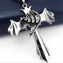 Fairy Tail Silver Pendant Necklace