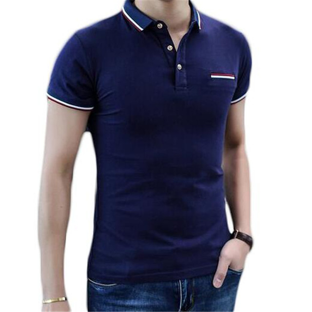 Brand Clothing Polo Shirt Men Short Sleeve Polo Homme Cotton Shirts Fitness Casual Top ZMF78952