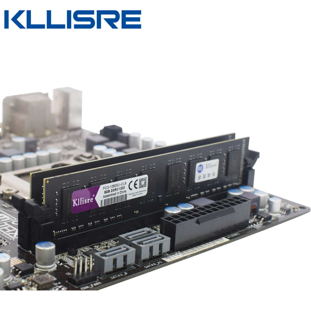 Kllisre DDR3 8GB ram 1600 1333 no ecc Desktop PC Memory 240pins System High Compatible