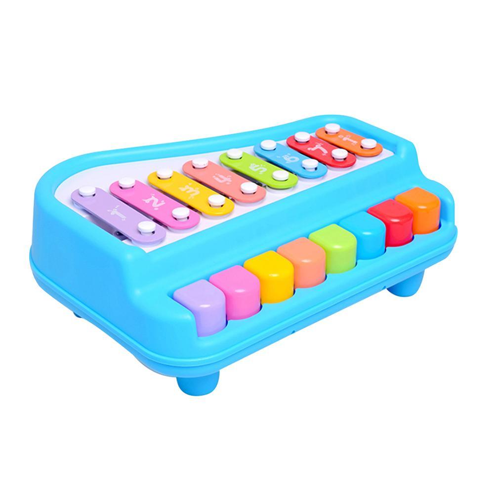 2 In 1 Klavier Xylophon Musical Instrument Mit Musik Karten Schlägel Educational Kinder Spielzeug Set Moderater Preis