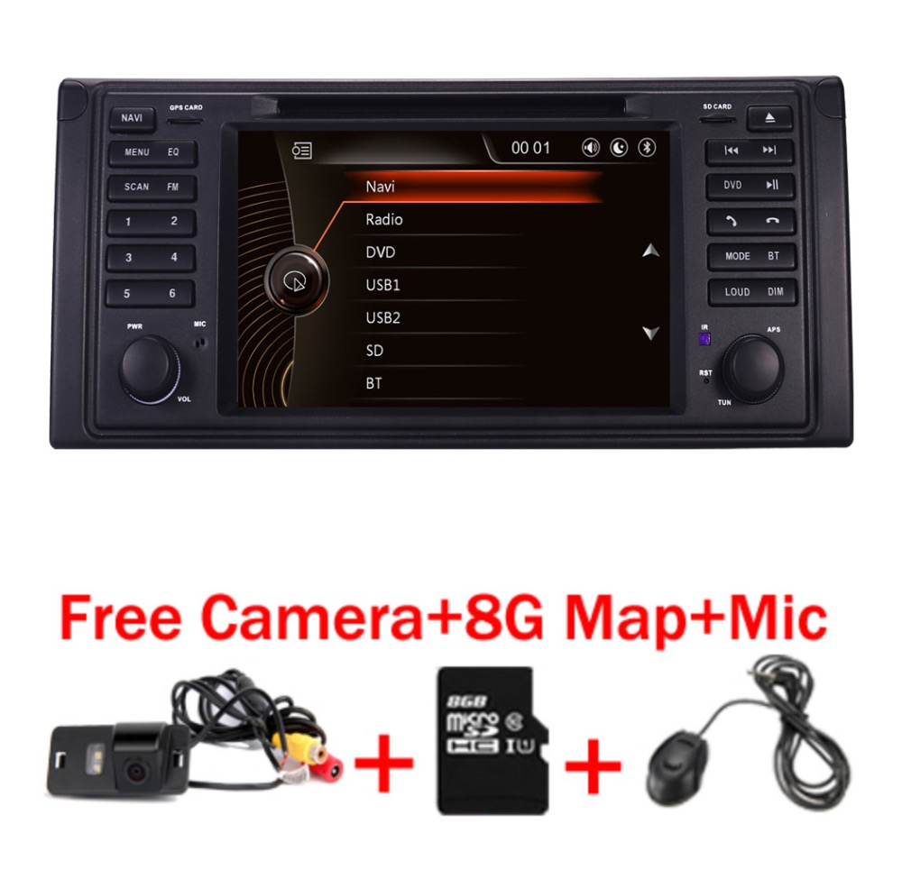 Original UI 1 din Car DVD player for bmw e53 E39 X5 With font b GPS