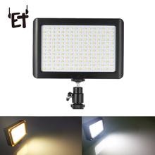 ET 260 228 LEDs Video Light for Selfie Live Video Portable Photography Lighting Ultra Thin Video Light for Mobile Phone Camera cheap Bi-color 3200K-5600K Black AA (No 5) 5000H Daylight 5600K 9977
