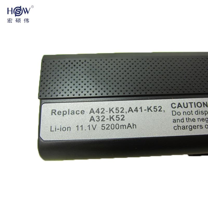 HSW laptop batterij voor asus K52 K52D K52DE K52JK K52J K52J K52J - Notebook accessoires - Foto 4