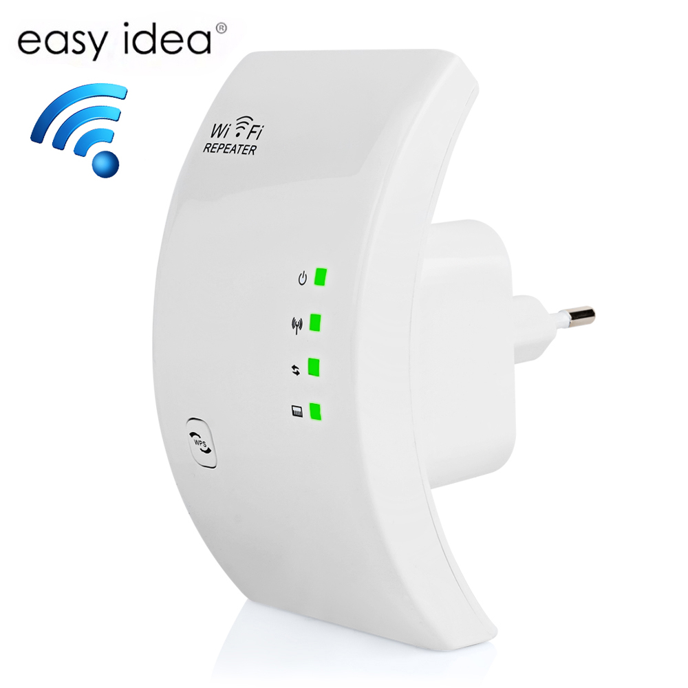 Easyidea WiFi Repeater Wireless Amplifier WiFi 300Mbps Wi Fi Exender 2.4G Access point Wi-Fi Signal Amplifier Range WiFi BoosterEasyidea WiFi Repeater Wireless Amplifier WiFi 300Mbps Wi Fi Exender 2.4G Access point Wi-Fi Signal Amplifier Range WiFi Booster