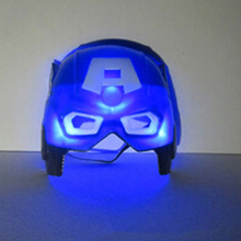 Cool LED Captain America Masks with Lighting Halloween Party Mask, JSF-Masks-025