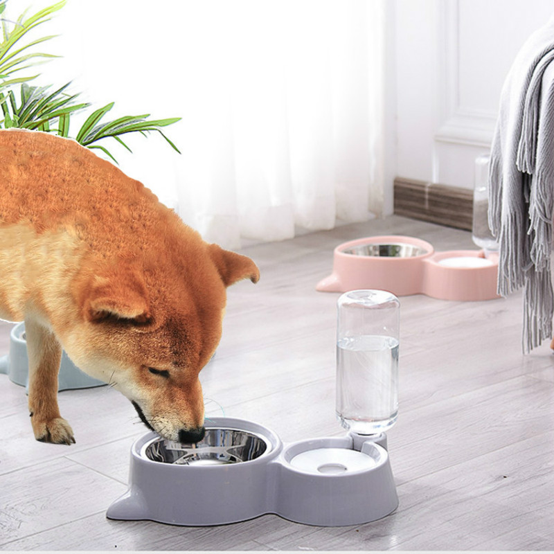 Cat Bowl For Small Medium Large Dog Drinking Water Dispenser for Automatic Drinker Pet Feeder Food
