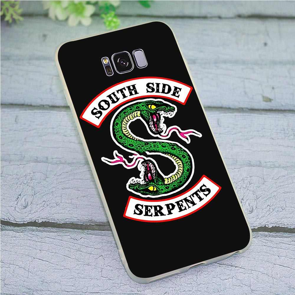 Cover for Samsung Galaxy A6 2018 Riverdale South Side Serpents Case for A7 A8 A9 A10 A20 A30 A40 A50 A70 J3 J5 J6 J7 A5 2017