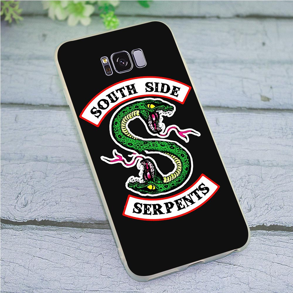 Abdeckung für <font><b>Samsung</b></font> <font><b>Galaxy</b></font> A6 2018 <font><b>Riverdale</b></font> South Side Serpents Fall für A7 A8 A9 A10 A20 A30 A40 A50 a70 J3 J5 J6 J7 A5 2017 image