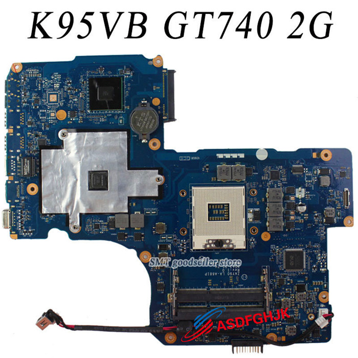все цены на K95VB Motherboard for ASUS R900V K95V A95V K95VM ZAY90 LA-A681P Mainboad GT740M fully tested онлайн