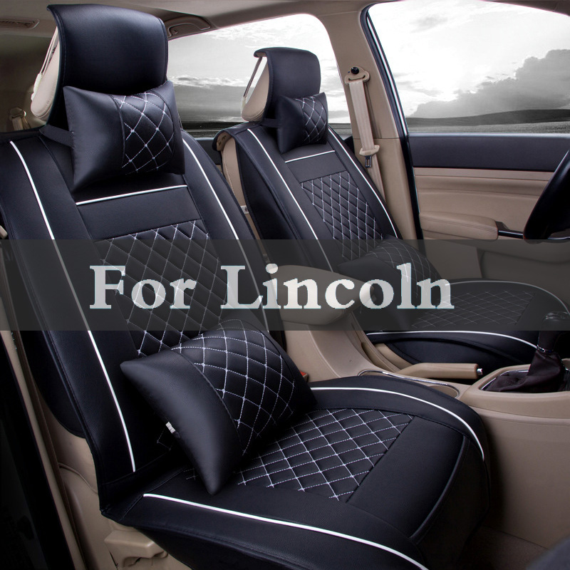 Summer Cool Car Seat Cushion Car Air Conditioning Leather Covers Set For Lincoln Aviator Ls Mkc Mks Mkt Mkz Navigator Town custom seat covers for lincoln ls diamond