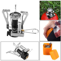 Outdoors Burner Portable Split Mini Gas Furnace Collapsible Multi function For Picnic Camping Gas Stove