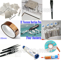 29pcs Set Universal Direct Heating BGA Stencil BGA Templates Bga Reballing Stencil Kit Tweezers BGA Solder