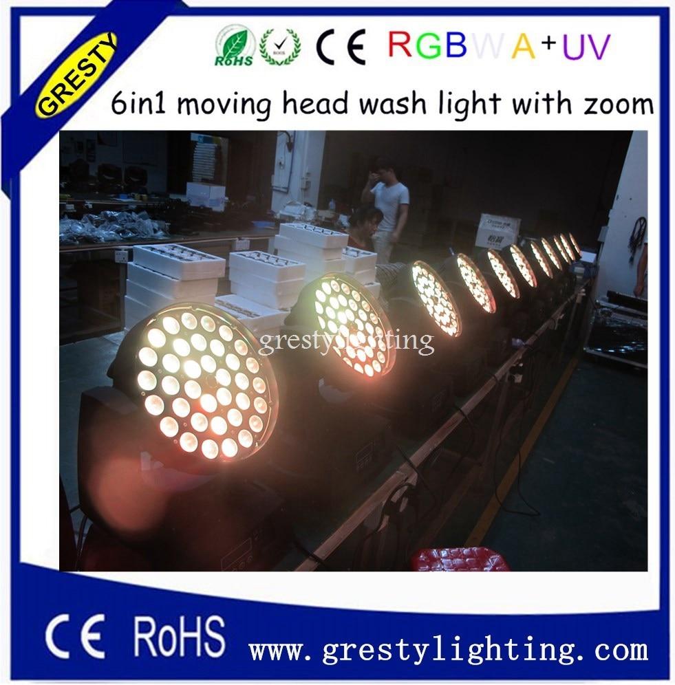 36pcs18W խոշորացում շարժվող գլխի լույսը - Կոմերցիոն լուսավորություն - Լուսանկար 1