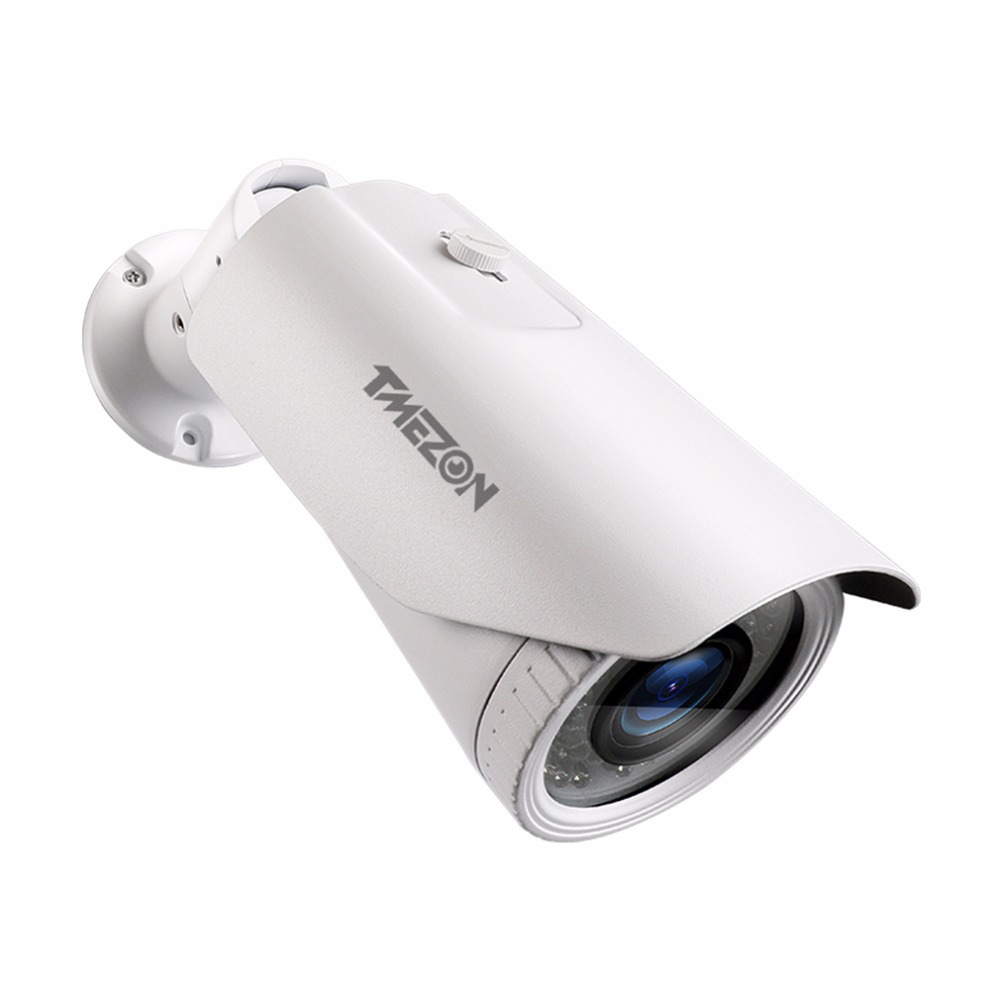 Tmezon AHD 1080P 2.0MP Bullet Camera 2500TVL 2.8-12mm Zoom Lens Home Security Surveillance CCTV Outdoor Night Vision Up to 40m