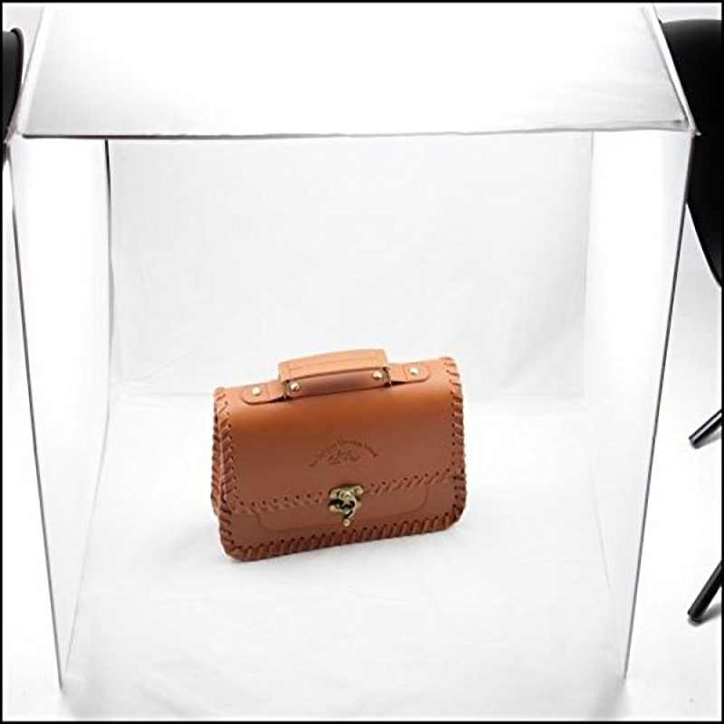 40 * 40 sm mini Qatlanan Lightbox Fotoqrafiya Studiyası Softbox LED - Kamera və foto - Fotoqrafiya 4