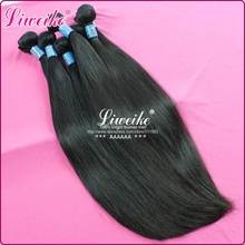 Peruvian virgin hair Straight in human hair weaves 5pcs lot,Unprocessed6A+Grade, remy hair product,Free shipping By DHL