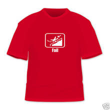 Fail Bailing Skater Funny T Shirt  Cotton Multi Size color New Shirts Tops Tee Unisex 2018 Newest Fashion
