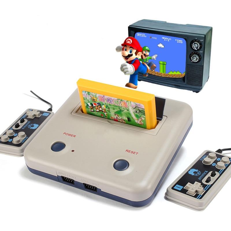 Heimvideospielkonsolen Kid D30 mit zwei Griffen 8 FC-Heimvideokarte - Spiele und Zubehör - Foto 4