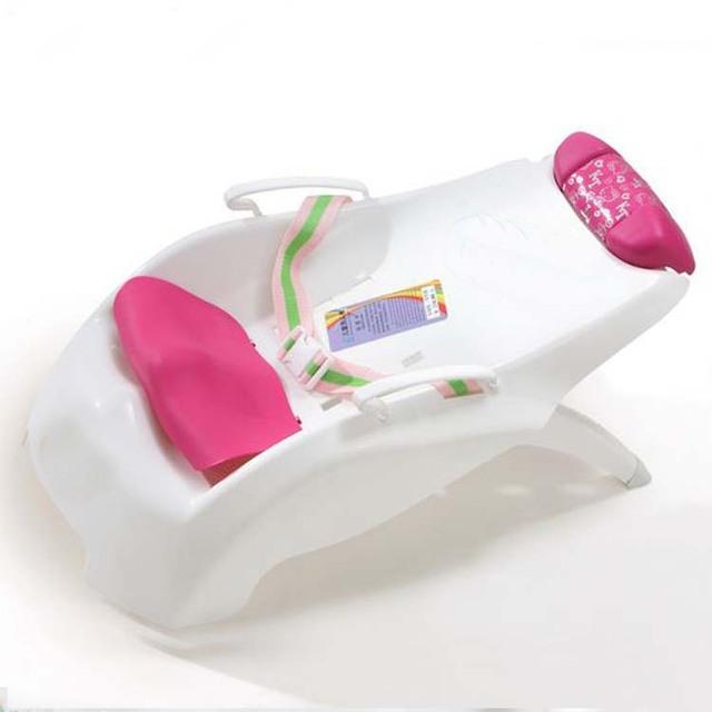 2016 caliente venta baño bebé silla de asientos de seguridad para niños para niños shampoo chair plegable bebé tinas