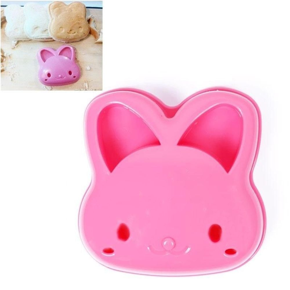 Hot Rabbit Shape Sandwich Mold Bread Cookie Cake Cutter Mold Cake Tools Kitchen Fondant Molds Cupcake