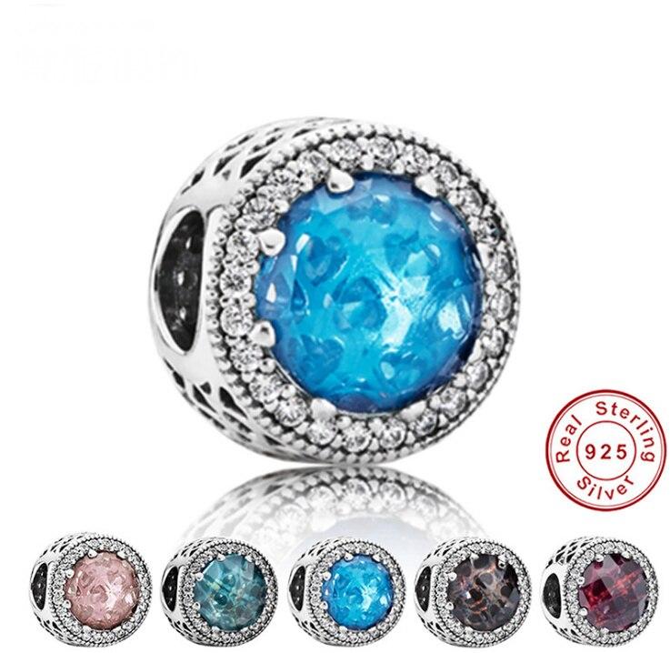 Новинка 2019, Изящные Ювелирные бусы, подходят к оригинальному браслету, ожерелье с большим отверстием, Diy Подвески для женщин, эмаль для подар...
