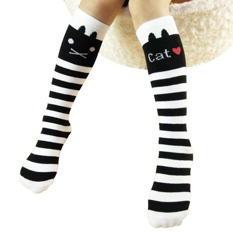 Knie Socken Für Mädchen Kinder Kinder Hohe Lange Casual Socken Mit Bögen Mode Elastische 3-10 Jahre Mutter & Kinder