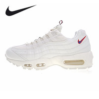 Nike Air Max 95 TT Men and Women Running Shoes,Outdoor Sneakers Shoes, White, Shock Absorption, Abrasion Resistant AJ1844 600