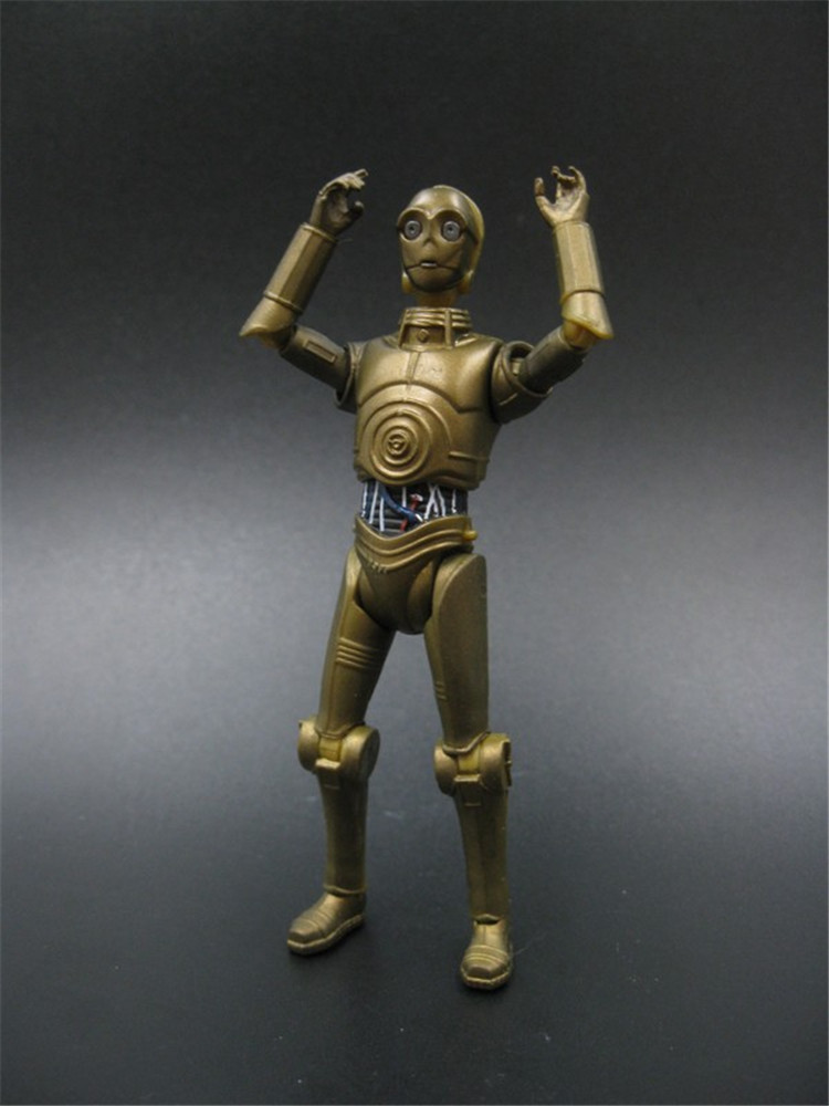 Hot ! Popular 3.75  action figure Star Wars C- 3po robot toy collection model toys Free shipping