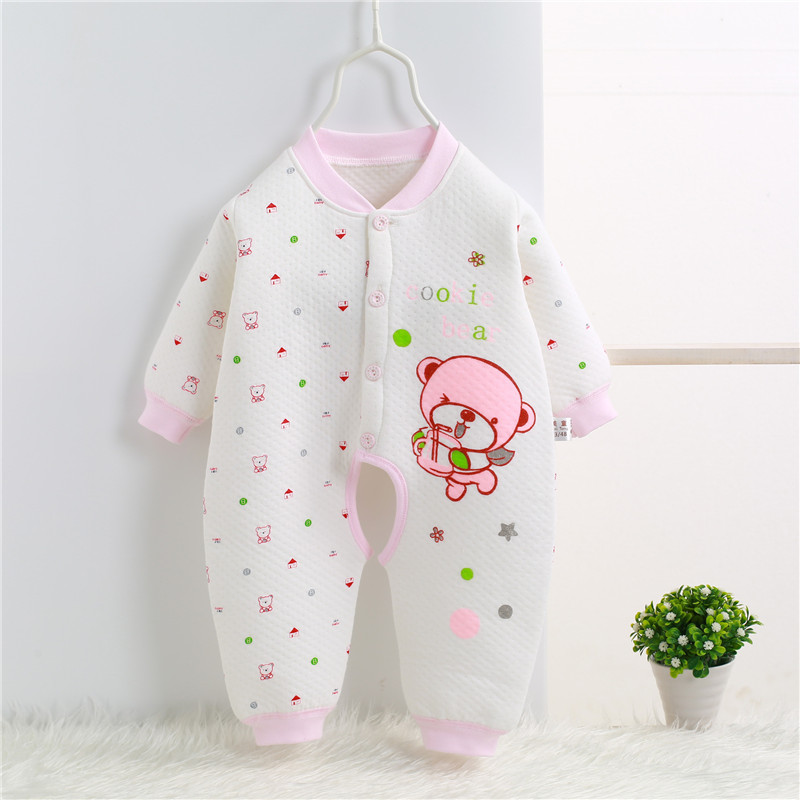 2017 Spring Autumn Newborn Romper cartoon baby girl baby clothing 100% cotton baby boy clothes jumpsuit bebes 0-1 years SKA08 (2)