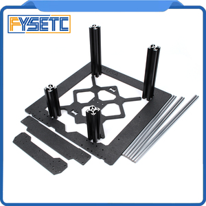 Image 2 - Aluminum Alloy Frame Y Carriage Front Plate + Aluminum Profile Smooth Rods Kit +U bolts LM8UU + Drivegear Kit For Prusa i3 MK3