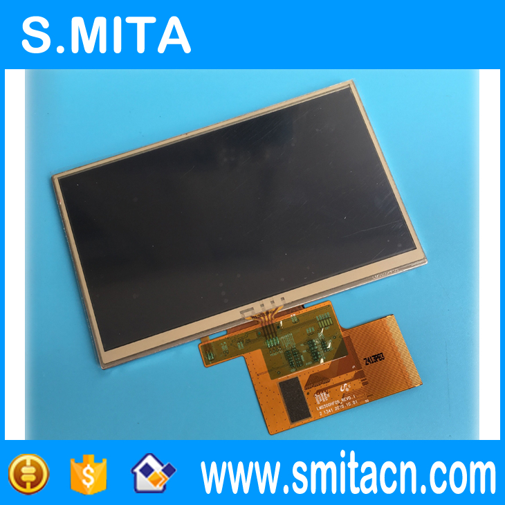 5 pulgadas pantalla táctil LMS500HF05 LMS500HF05 REV0.1 TFT lcd digitizer display panel 120x74mm De retroiluminación LED 72 lámpara para Sony KDL-50R550A 6922L-0083A 1173A 1291A LC500EUD FF F3 F1 50
